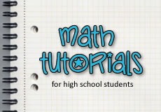 Math tutorials